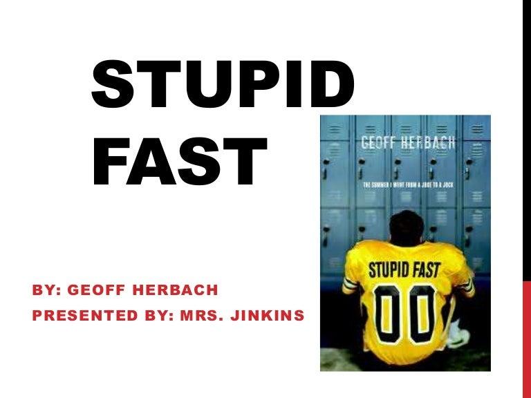 Stupid fast book talk