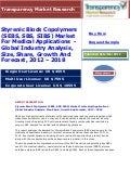 Styrenic block copolymers (sebs, sbs, sibs) market for medical applications    global industry analysis, size, share, growth and forecast, 2012 – 2018