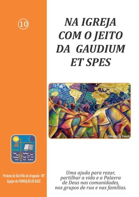 Na Igreja com o jeito da Gaudium et Spes