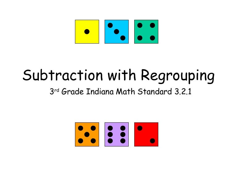 Regrouping Subtraction 4th Grade