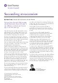 Grant Thornton - Succeeding at Succession
