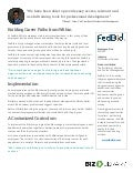 FedBid: Building Career Paths From Within [Case Study]