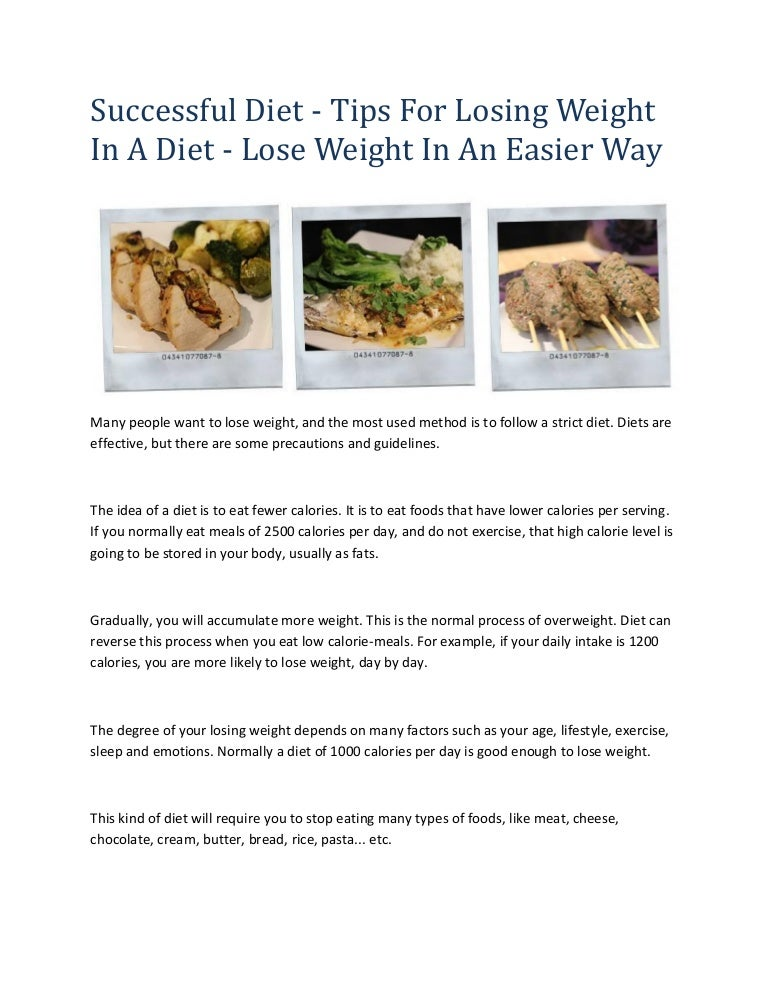 How to follow a strict diet