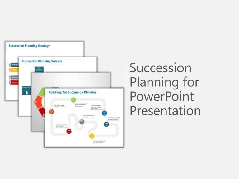Succession Planning Process Powerpoint Template