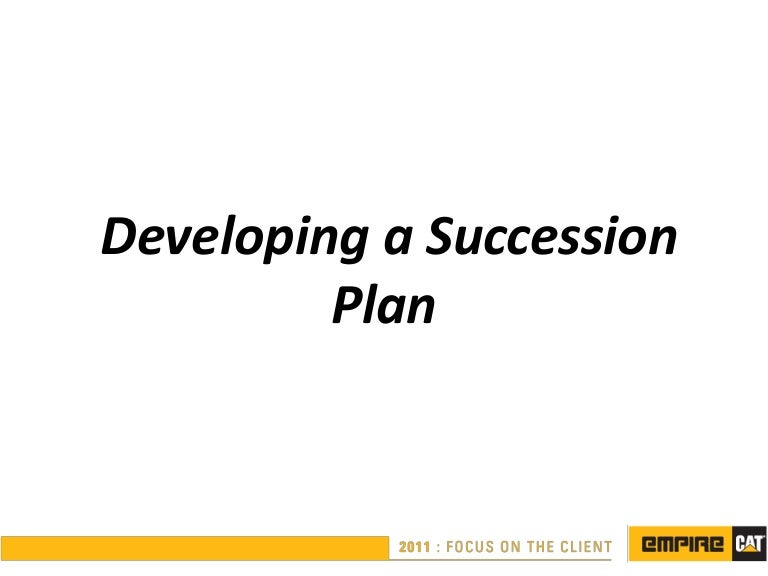 Succession Planning Ppt