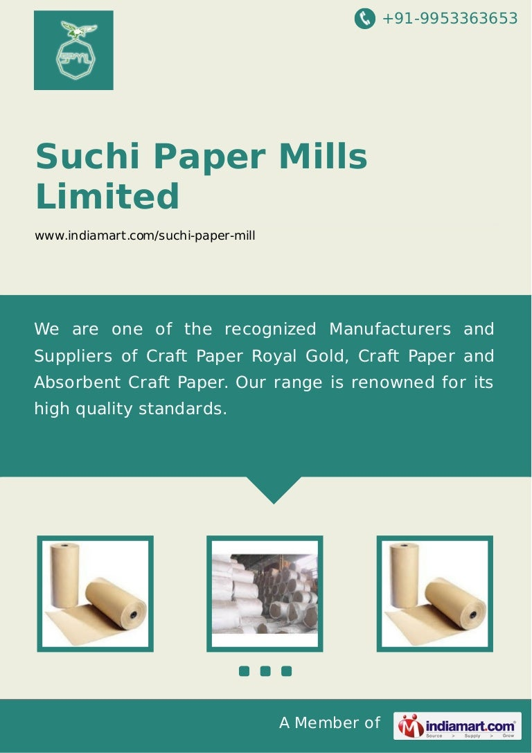 Suchi paper mills limited gautam budh nagar craft paper jeuxipadfo Image collections