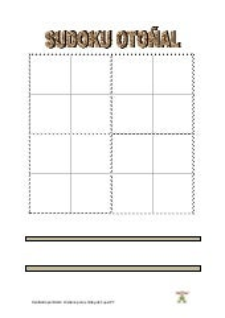 Sudoku otoñal