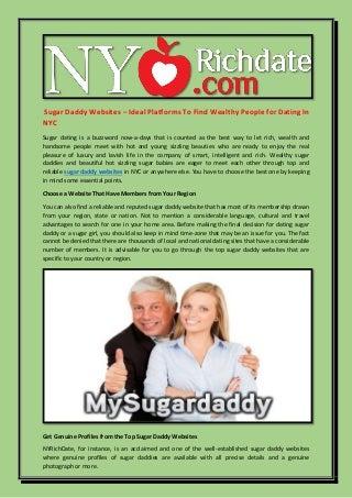 rich men dating websites