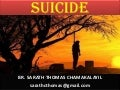 SUICIDE &  ITS REAL FACTS by BR. SARATH THOMAS CHAMAKALAYIL, sarathcthomas@gmail.com