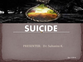 Suicide ppt