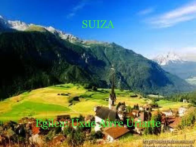 Suiza Uxue