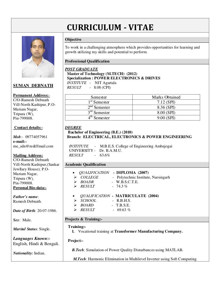 cdnslidesharecdncomss_thumbnailssumandebnathup - Impactful Resume Update