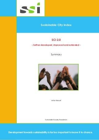 Sustainable City Index