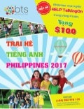 Du học hè Philippines 2017 tại BTS Education