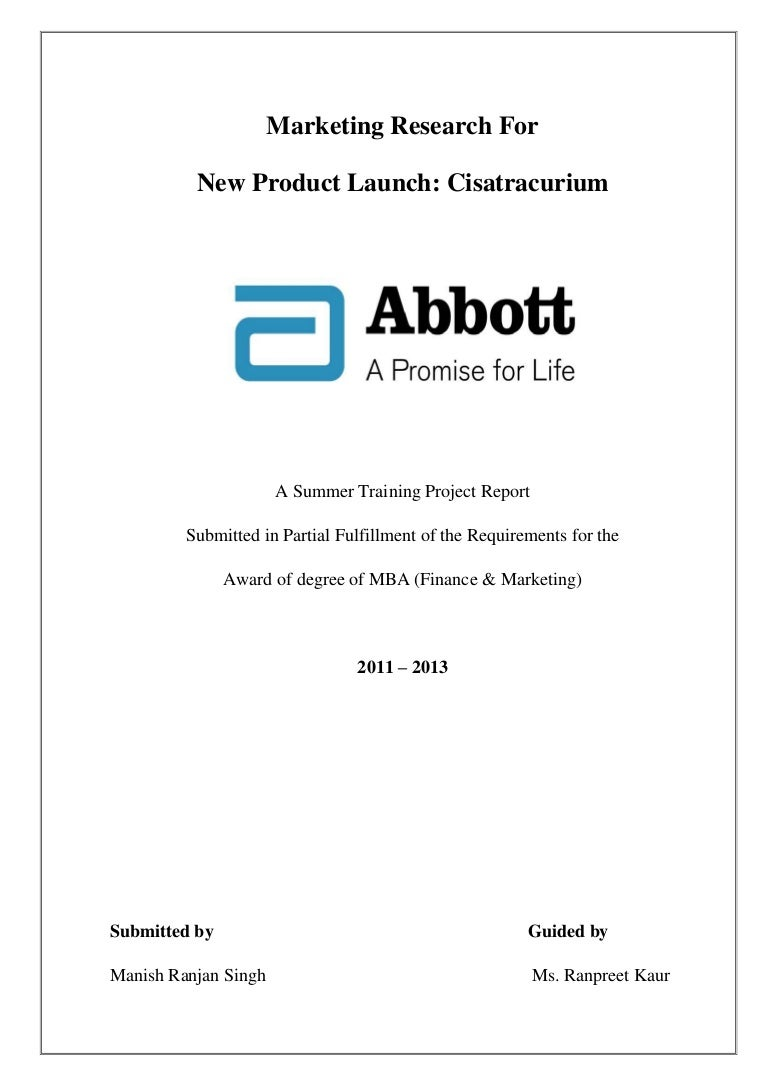 design of front page of project report