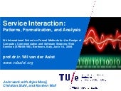 Service Interaction: Patterns, Formalization, and Analysis