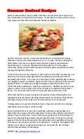 Summer Seafood Recipes