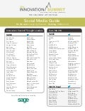 CPA Innovation Summit - Social Media Guide