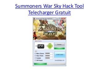 Summoners War Sky Hack Tool Telecharger Gratuit