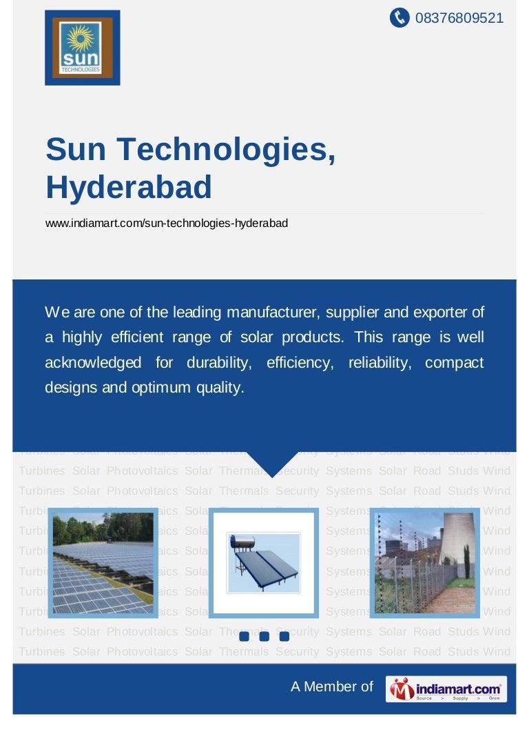 Sun Technologies Hyderabad Solar Power Plants