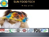 Sun Food Tech - Food Colors Manufacturers & Exporters in India