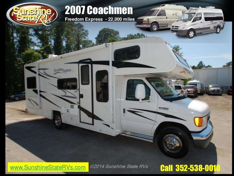2007 Used Coachmen Freedom Express At Sunshine State Rvs