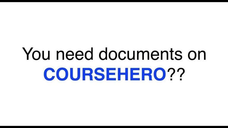 Course Hero Free Unlock Unblur Account Hack Download Coursehero - 201…