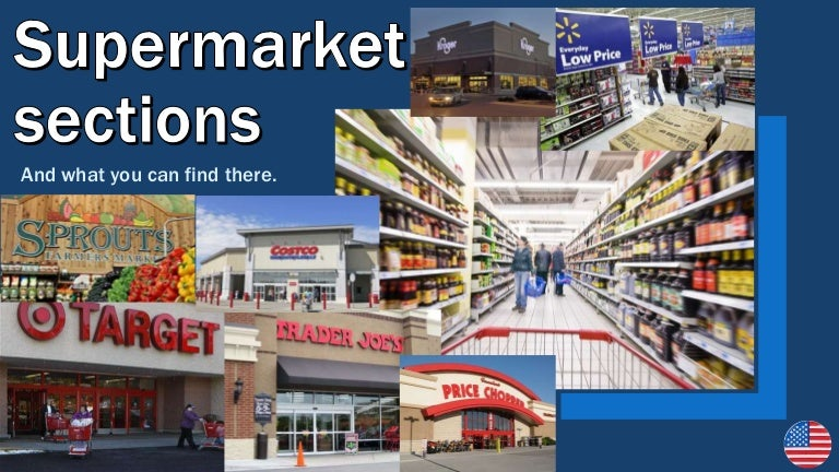 Supermarket Sections