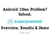 Superpowered Media Server for Android
