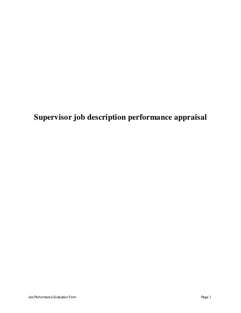 Supervisorjobdescriptionperformanceappraisal-150428212717-Conversion-Gate02-Thumbnail-4.Jpg?Cb=1430274485