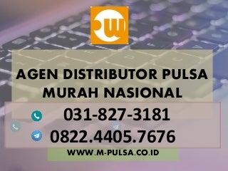 Suplier pulsa murah, Agen pulsa murah, distributor pulsa murah, bisnis pulsa murah MPULSA - 082244057676