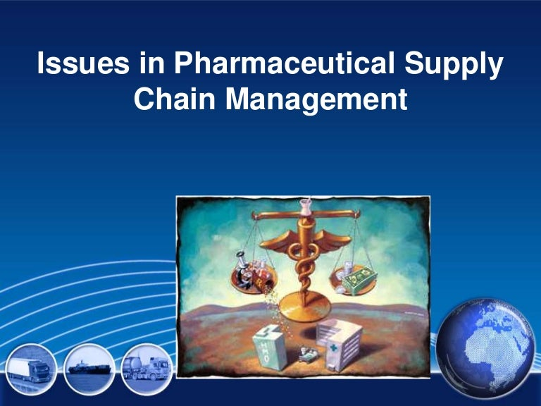 Supply chain issues in Pharma industry
