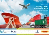 BCI Supply Chain Resilience 2012