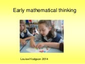 Supporting children as mindful mathematicians