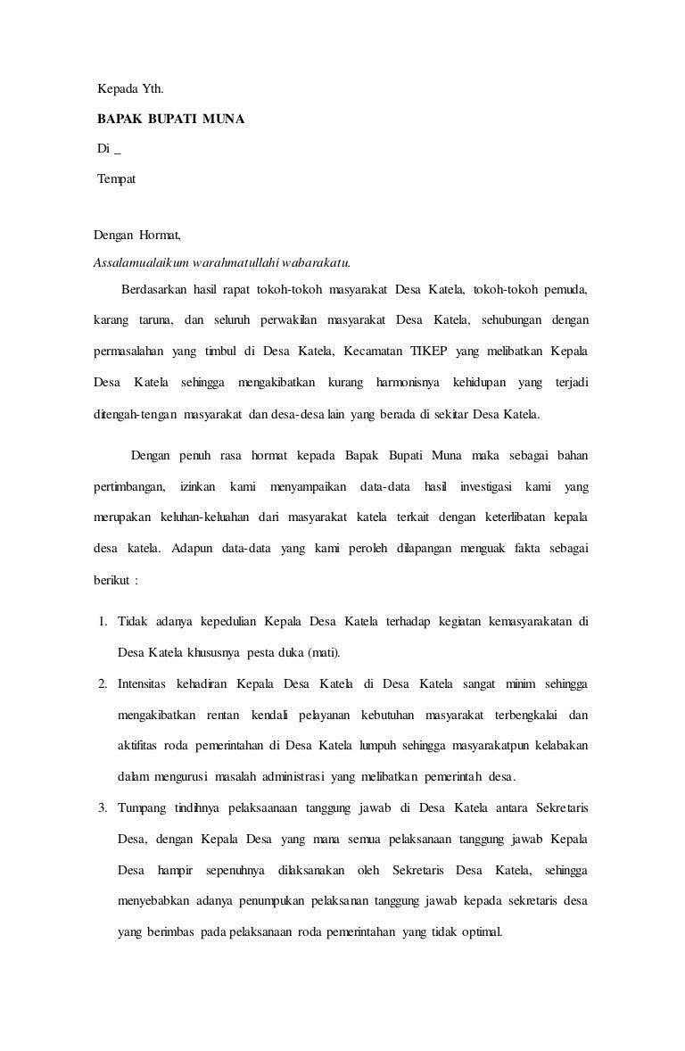 Surat Penting Baru