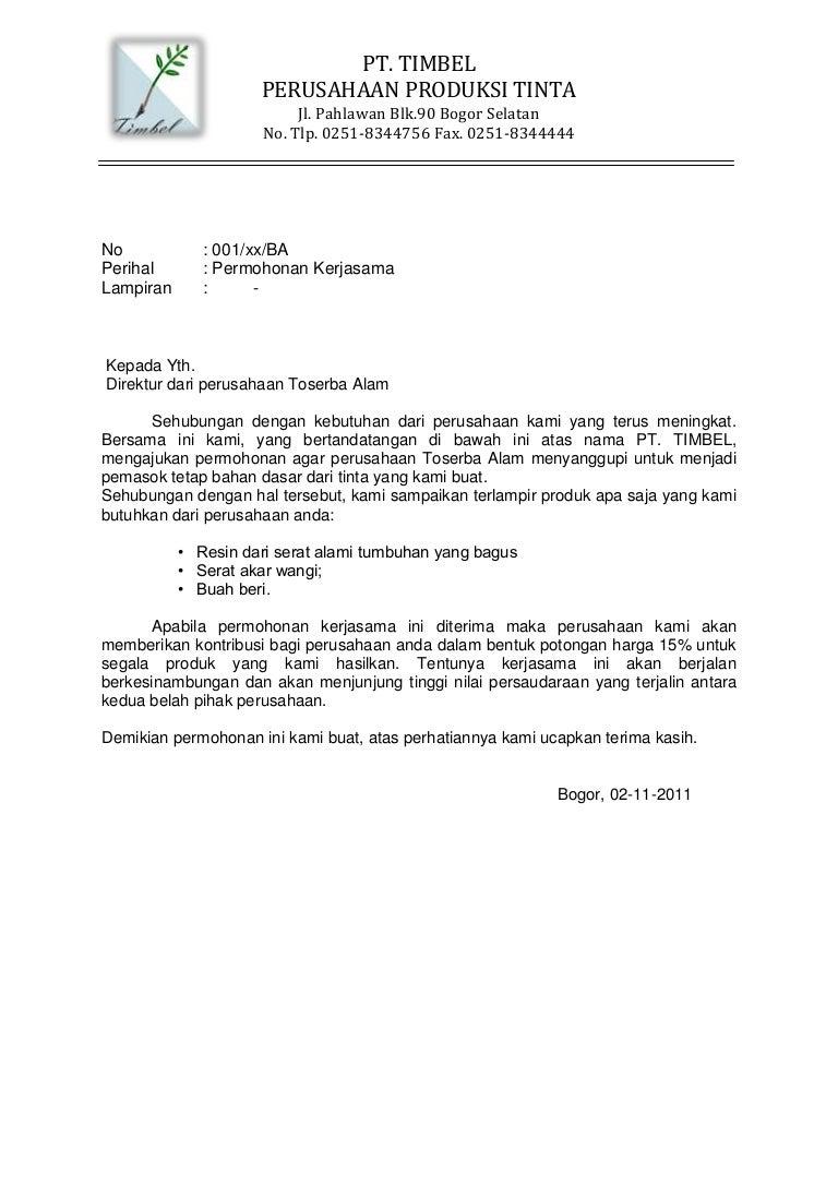 Surat Resmi Untuk Sekolah Dasar - Surat Ras
