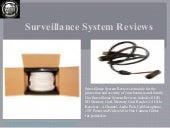 #Surveillance system reviews