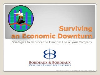 Surviving An Economic Downturn