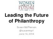 Philanthropy Gives Women a Seat at the Table - How Can You Benefit
