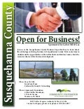 Susquehanna County Business Expo event flyer - May 19, 2016