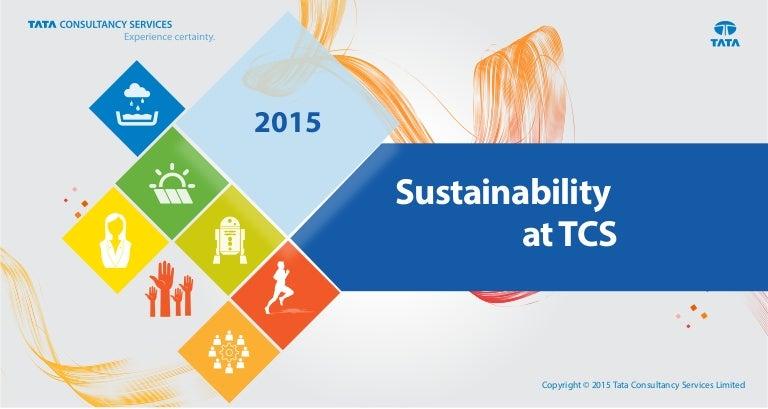 Sustainability at TCS 2015