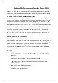Sustainable development revision guide