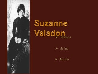 Suzanne Valadon french painter