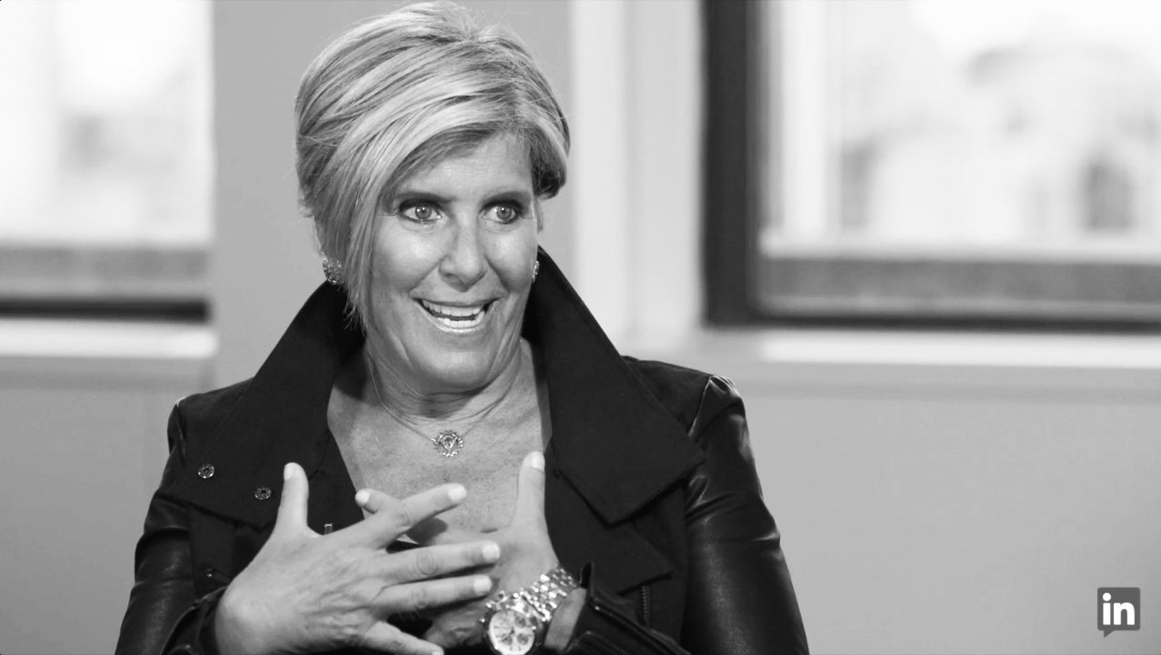 "How Suze Orman Found Her Passion: ""It Discovered Me"""