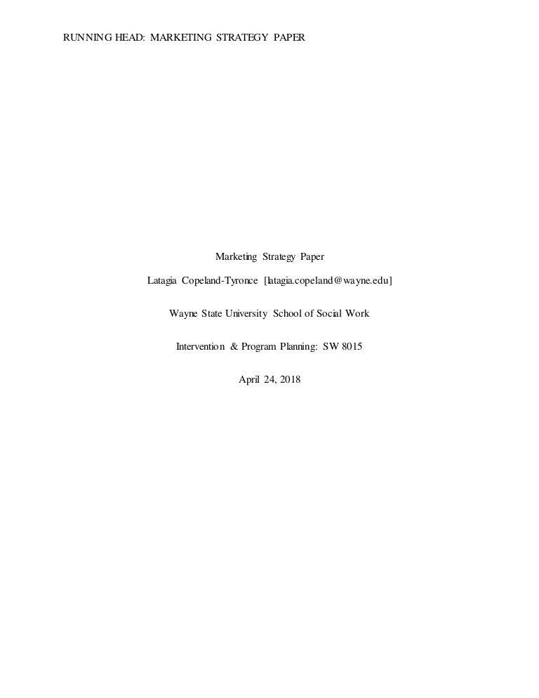 BFDI Legal Advocacy: Marketing Strategy Paper