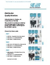 Swan DIST Water System Distribution Quality Monitor