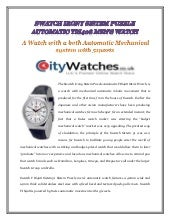 Swatch irony sistem puzzle automatic yis408 mens watch