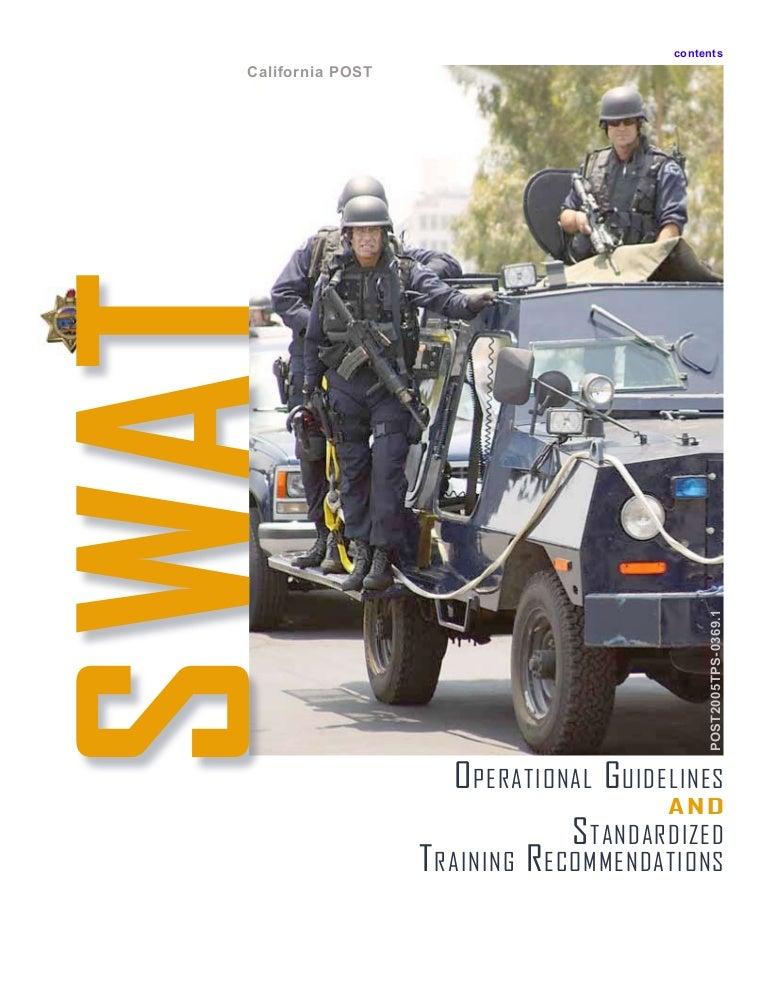 swat training manual rh slideshare net Swat 4 Weapons bt4 swat manual
