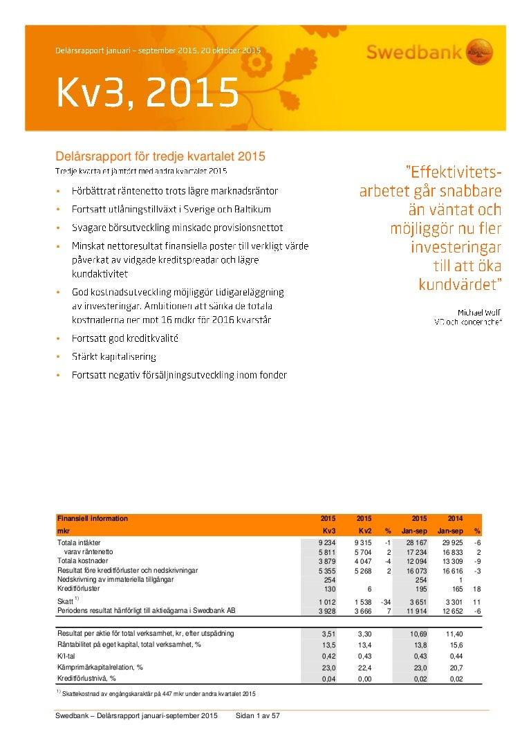 Strul for swedbanks foretagskunder