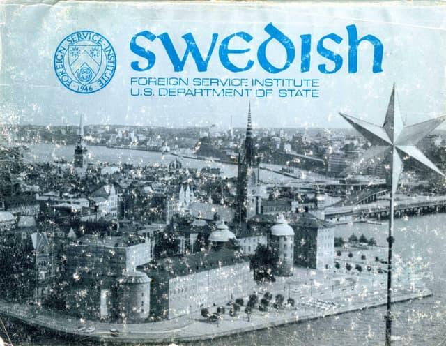 Learn Swedish - FSI Basic Course